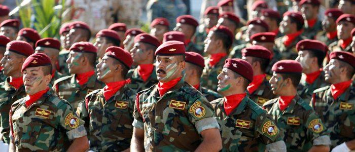 وزارة الدفاع تضع خطة لإعادة هيكلة الجيش  بالتعاون مع قوات التحالف