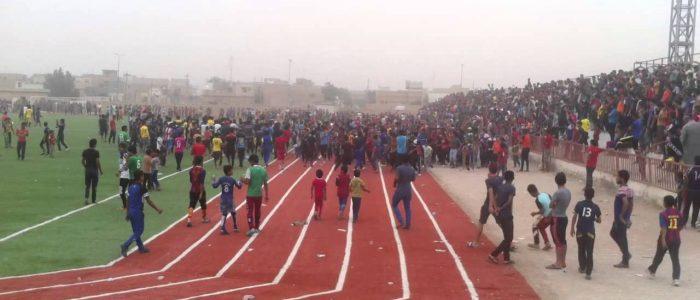 وزارة الشباب والرياضة تغلق ملعب ميسان الاولمبي على وقع اعمال شغب