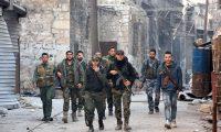 ضربات جوية للتحالف الدولي ومقتل 100″ من القوات الموالية للحكومة السورية